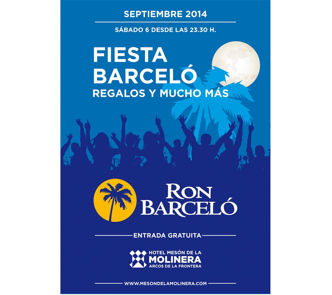 Fiesta Barceló en Chill Out Hotel Mesón de la Molinera
