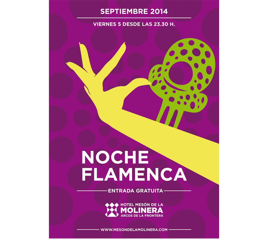 Flamenco en directo en Hotel Mesón de la Molinera